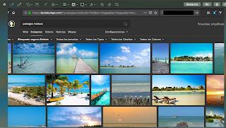 Editando una captura de pantalla en la Mac.