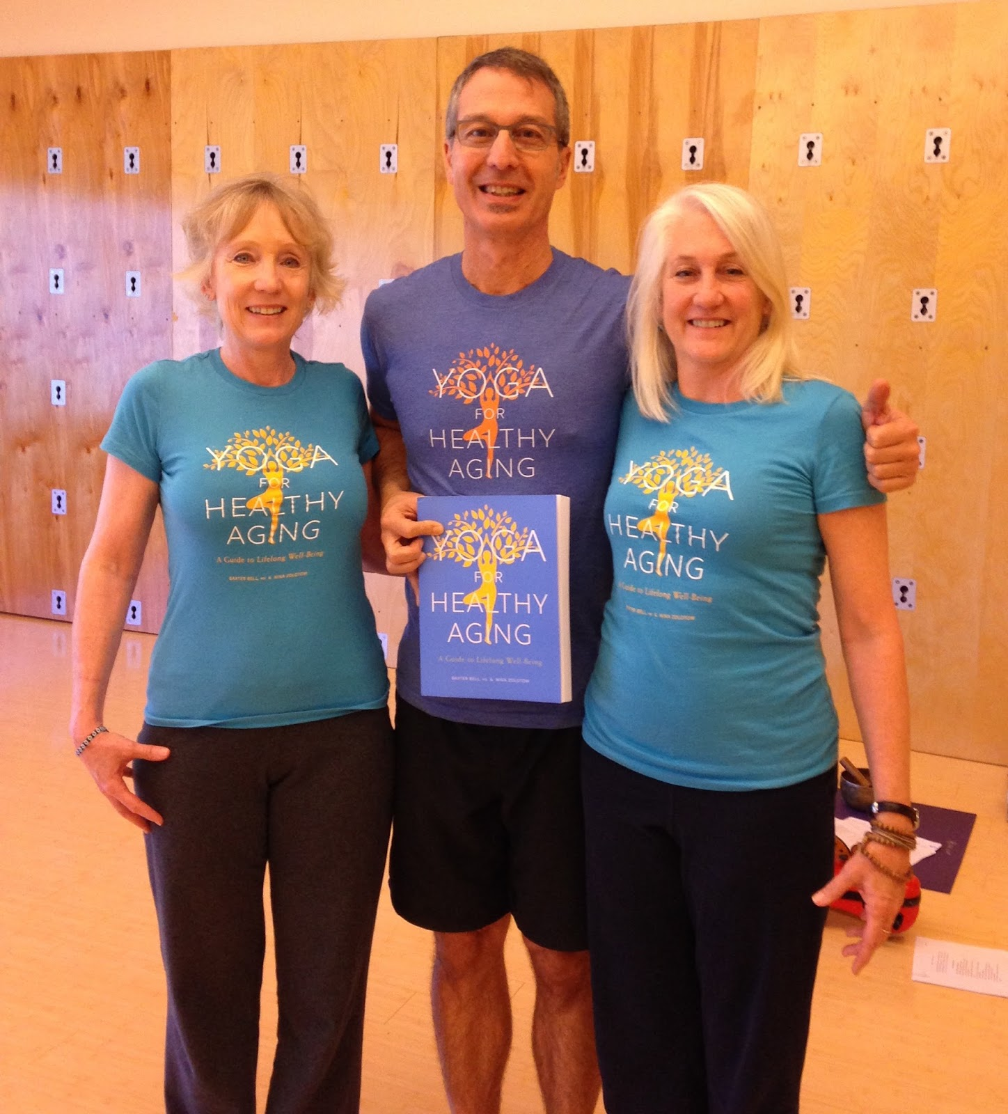 Yoga For Healthy Aging Yoga For Healthy Aging T Shirts
