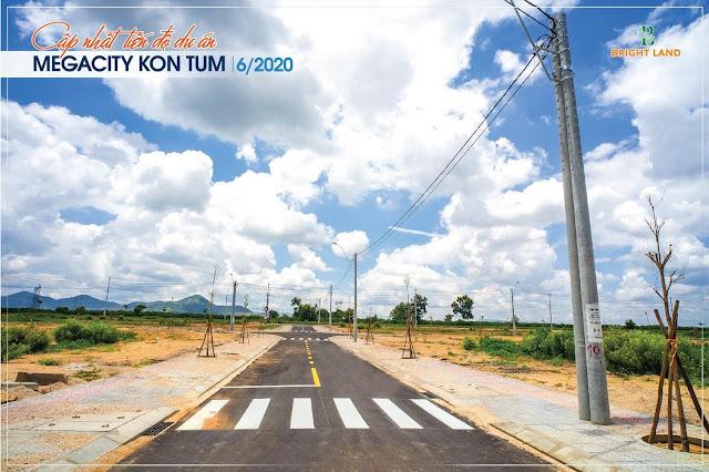 Hạ tầng dự án Mega city KonTum 2