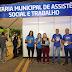 SECRETARIA DE ASSISTÊNCIA SOCIAL DIVULGA CAMPANHA 'RESPEITA AS MINA' DURANTE O BARREIRAS FOLIA
