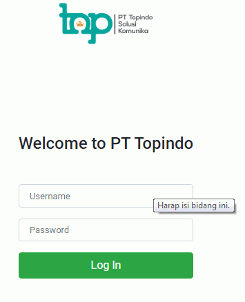 Cara Login Web Report http Report Topindopay Co Id Topindo Warehouse