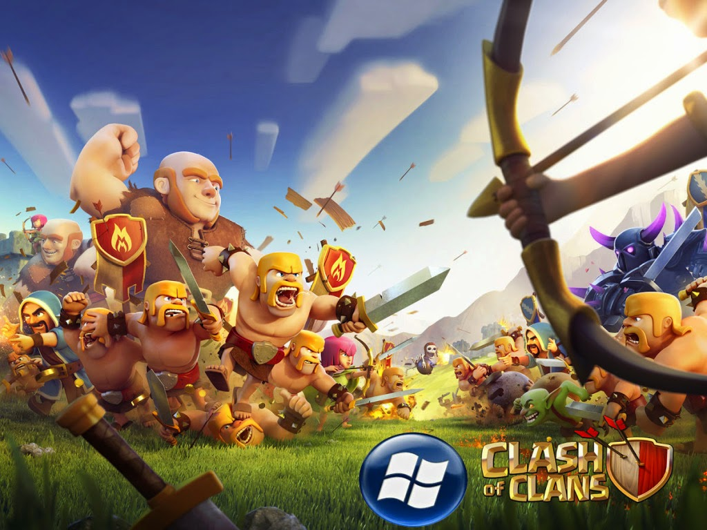 Clash of Clans for Windows Phone! - Supercell