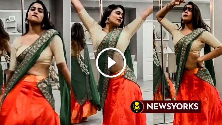 இன்ஸ்டாவில் பிக்பாஸ் ஷிவானி நாரயணன் வெளியிட்ட  HOT DANCE வீடியோ !!