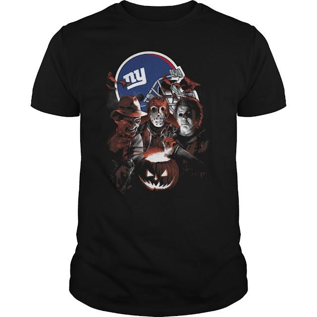 New York Giants Halloween Scream Team Shirt