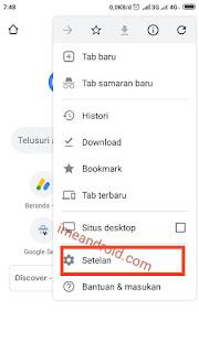 Setelan kata sandi gmail