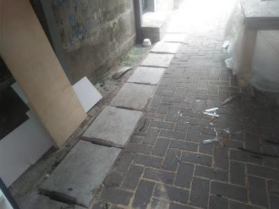 Pengerjaan BKM Kelurahan Sukasari Tidak Maksimal,Dam Dinilai Asal- Asalan