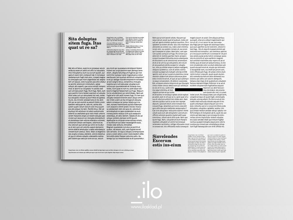 Skład i łamanie magazynu