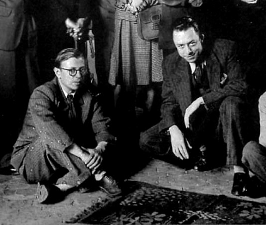 the fall camus sartre thesis Essays and criticism on albert camus - critical essays of more philosophically rigorous existentialists such as sartre camus the fall albert camus.