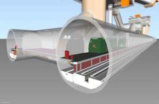 Pemodelan Jalur Kereta Api di Naviswork