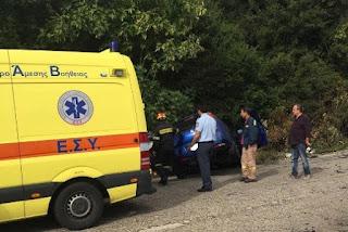Τραγωδία: δύο νεαροί Aιτωλοακαρνάνες σμηνίτες νεκροί στο τροχαίο κοντά στα Παλιάμπελα [photos]