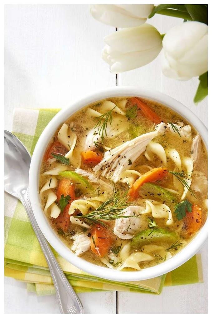 Healthy Chicken Soup Recipe - கோழி சூப்