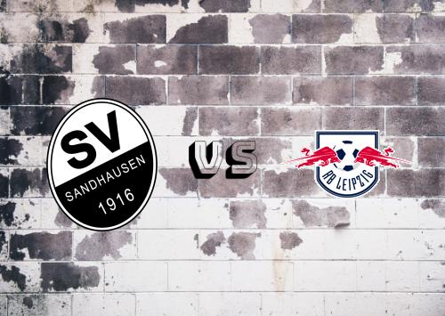 Sandhausen vs RB Leipzig  Resumen