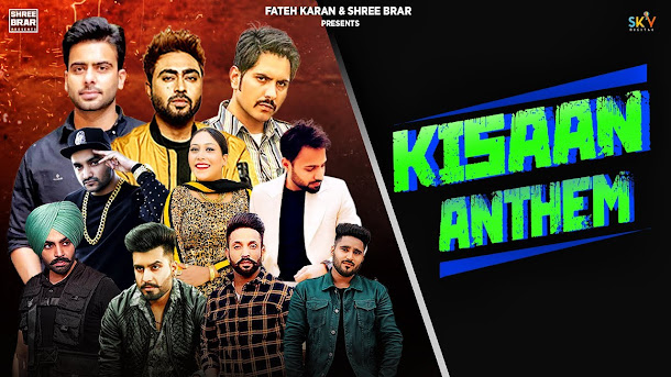 Kisan Anthem Song Lyrics | Mankirt | Nishawn | Jass | Jordan | Fazilpuria | Dilpreet | Flow | Shree | Afsana | Bobby Lyrics Planet