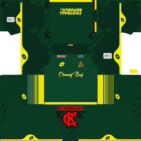 Kedah FA 2020 Kit - Dream League Soccer Kits