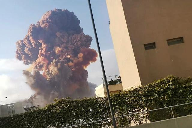 Beirut Ledakan Lebanon
