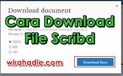 Download file scribd
