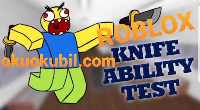 Roblox Knife Ability BIÇAK Test (KAT) Reaper Hilesi ESP 01 Aralık 2019