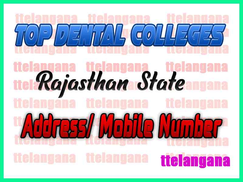 Top Dental Colleges in Rajasthan