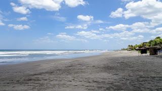 Beach between Managua and Leon