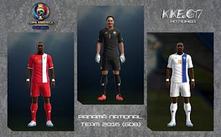 Kit Panama 2016 Copa America Centenario Pes 2013