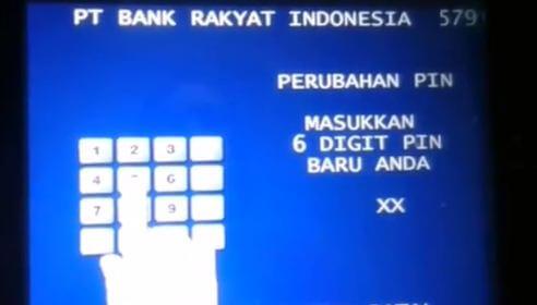 Cara mudah ganti PIN kartu ATM BRI