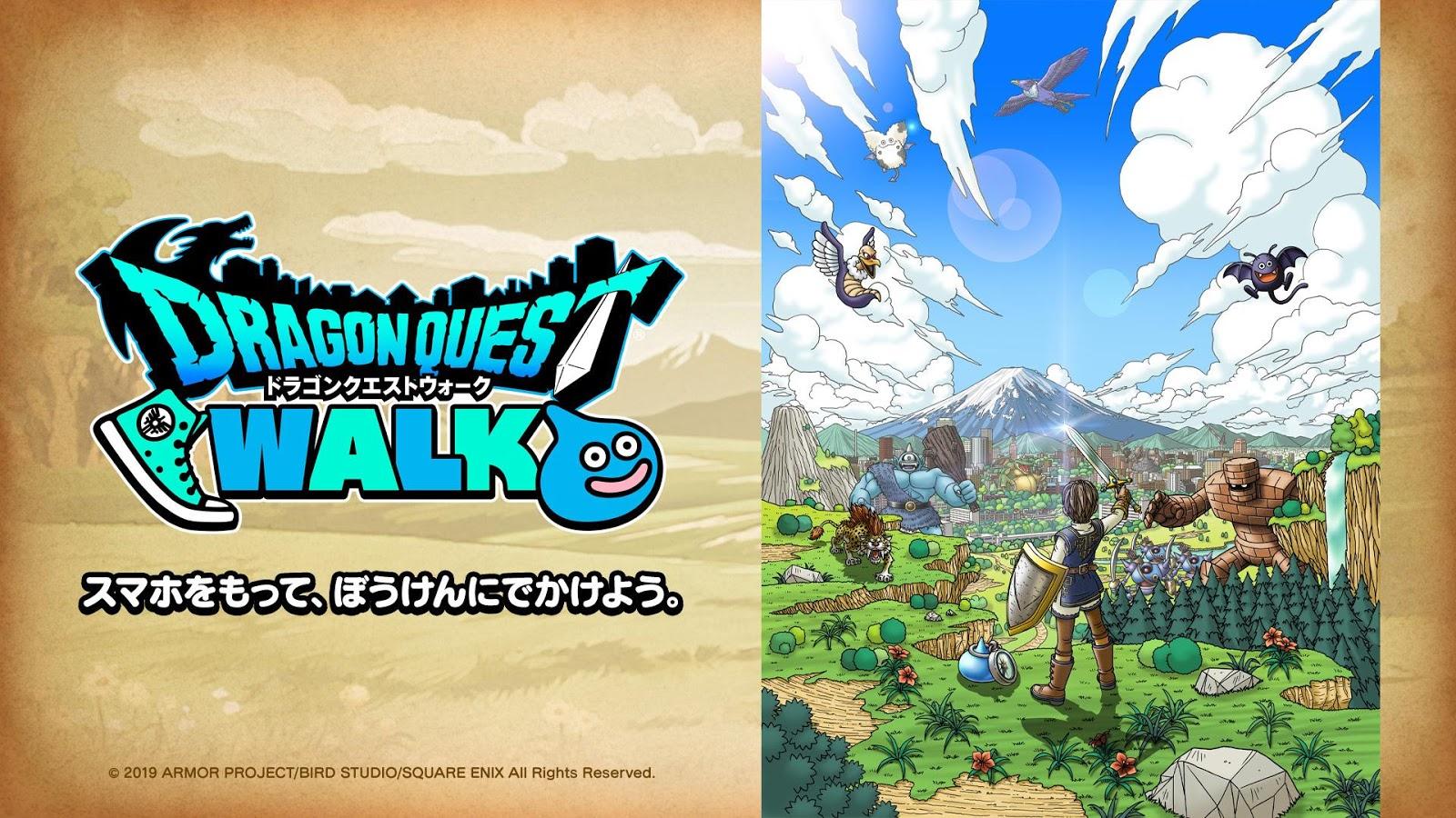 Squre Enix Akan Bawa Game Dragon Quest Walk Ke Smartphone