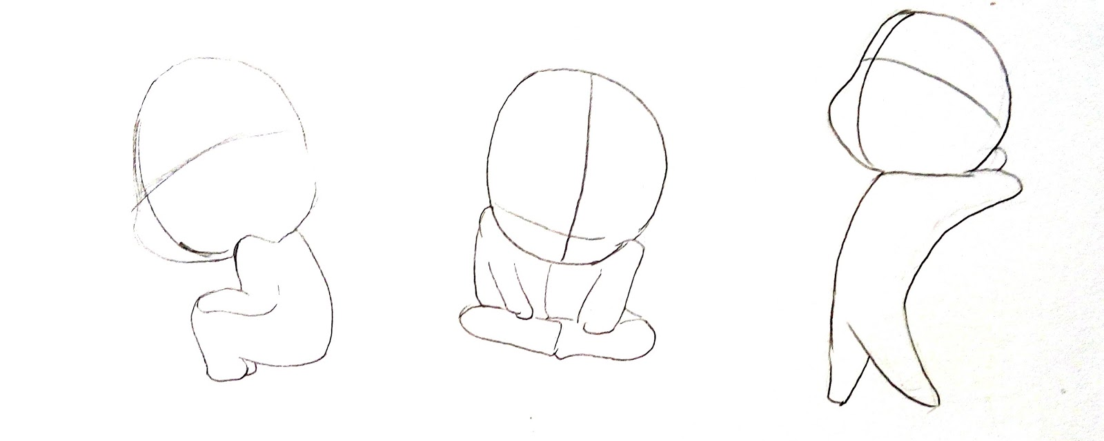 Cara Menggambar Chibi Manga MAYAGAMI