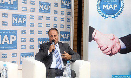 """دكار ..المركز الافريقي للذكاء الاستراتيجي يمنح جائزة """"السلم والأمن 2020 """" للسيد محمد بنحمو"""