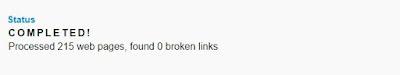 Cara Cek Broken Link (URL mati) di Blog / Website 3