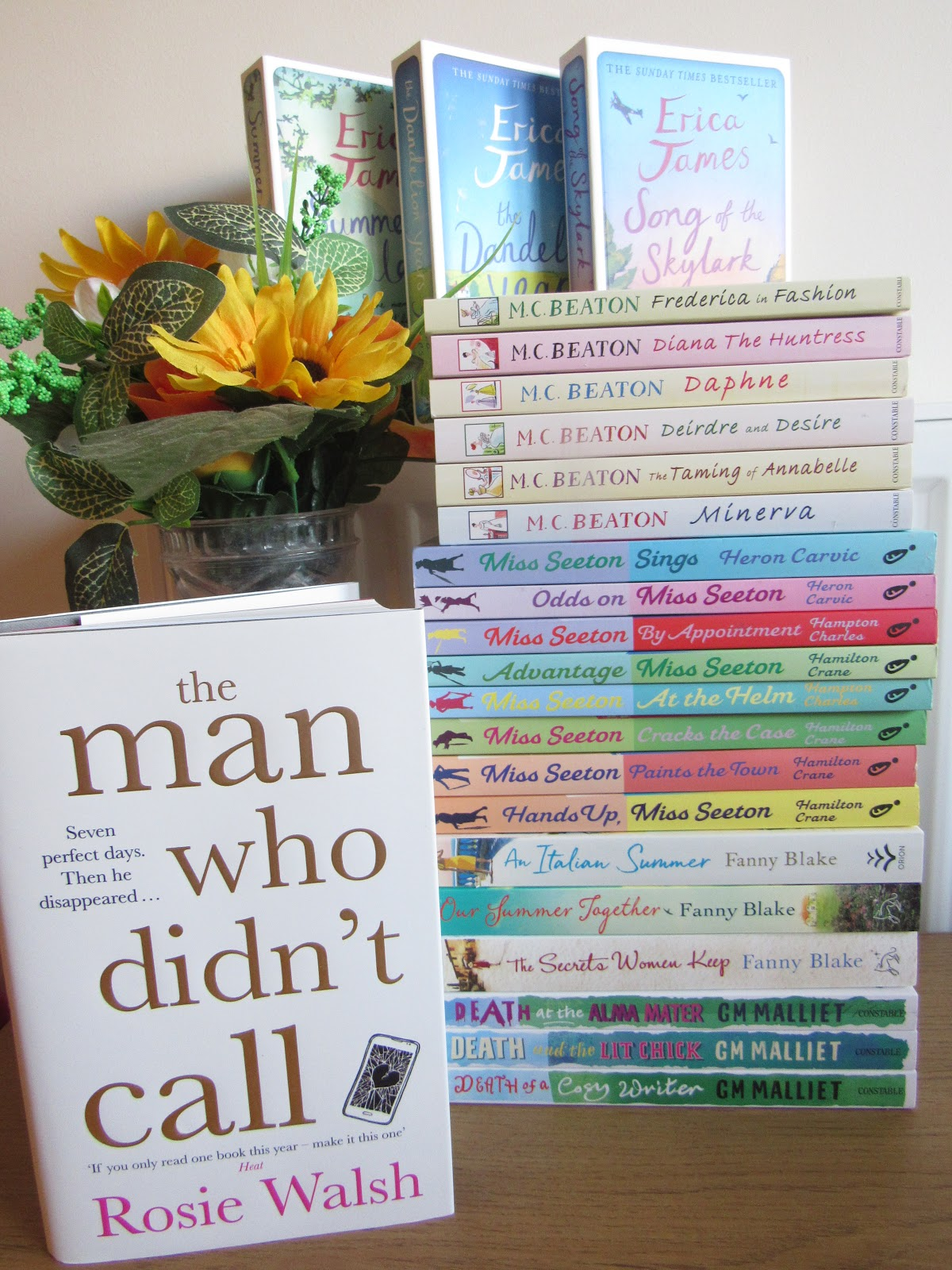 Autumn Book Haul With The Book People, Blooming Fiction