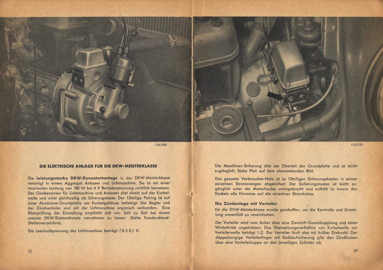 dkw auto union project 1953 dkw f89p meisterklasse german drivers manual. Black Bedroom Furniture Sets. Home Design Ideas