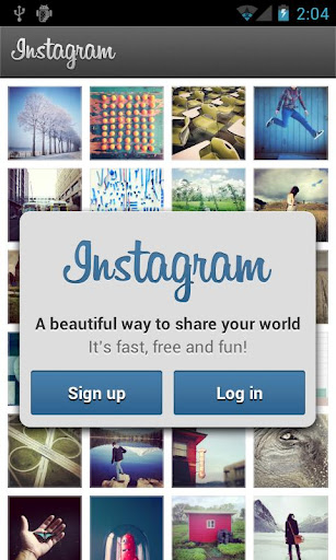 Home page di Instagram per Android