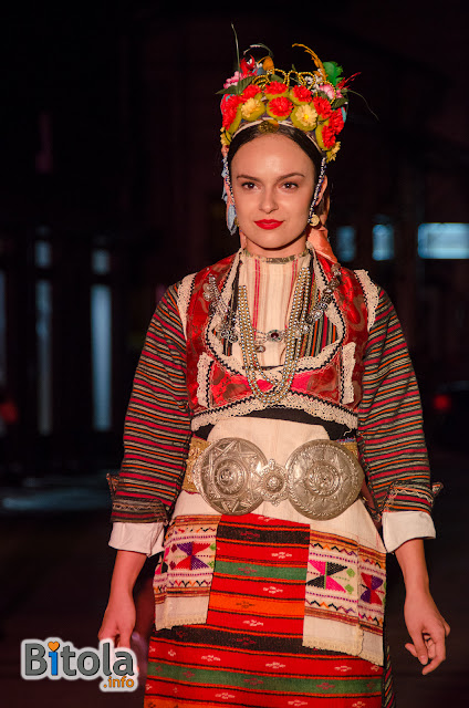Macedonian national costume - Ethnic area Bojmija
