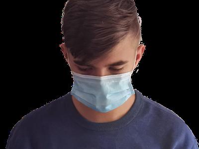마스크를 쓴 남자
