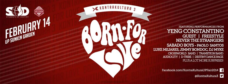 Born for Love, February 14