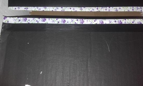 faça acabamento das tampas com papel contact