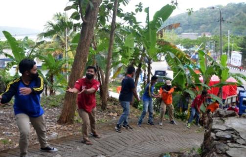 Gempa dan Tsunami Megathrust, Tagana Terjun di Tengah Kepanikan