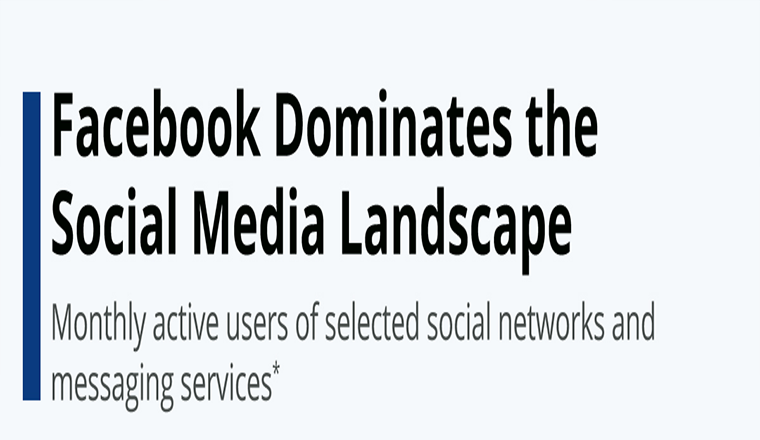 Facebook Inc. Dominates the Social Media Landscape