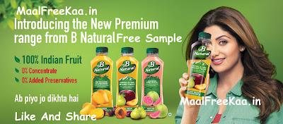 B Natural Free Sample