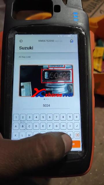 Suzuki Swift all key lost using Xhorse VVDI Key Tool Max + Dolphin XP005 03