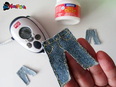 creare applicazioni sulla stoffa con ferro da stiro