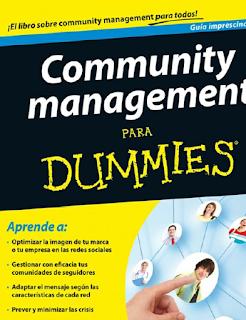 Libro en pdf Community management para dummies Pedro Rojas