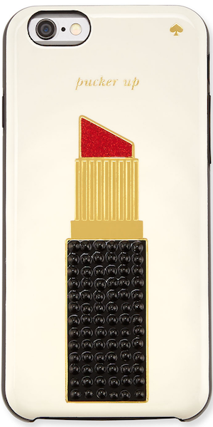 kate spade new york jeweled lipstick iPhone 6 case, multicolor