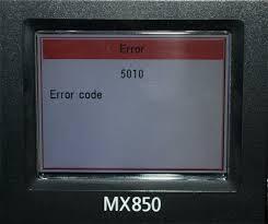 Erreur E42 ou 5010 sur les imprimantes Canon