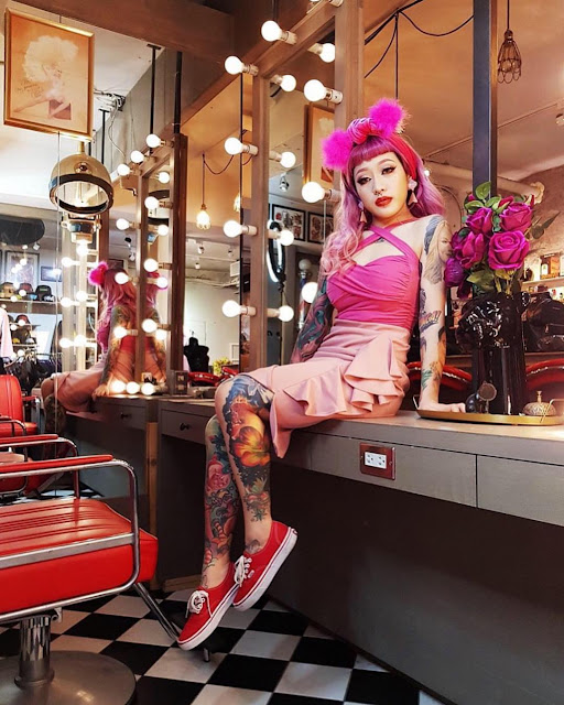 """""""Don't Be Restricted By Cultural Expectations"""" Pinup Alice Meow Talks About Her Experiences As A Taiwanese Pinup Girl"""
