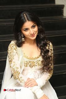 Telugu Actress Mahima Makwana Stills in White Desginer Dress at Venkatapuram Movie Logo Launch  0204.JPG