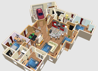 Free software for you free download sweet home 3d for Home design 3d gratis