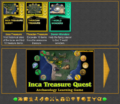 Archaeology Quest Games