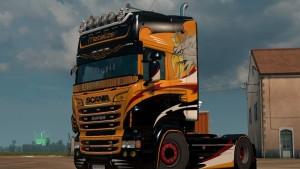 Scania RJL Metalizer Skin