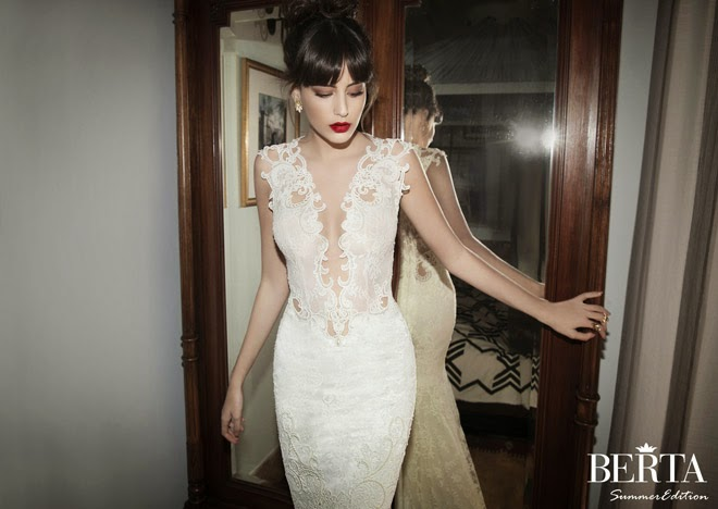 Berta Bridal Summer 2014 Wedding Dresses - Part 1 - Belle The Magazine
